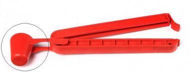 Maßbecher für Beutelklammer Rot 15ml