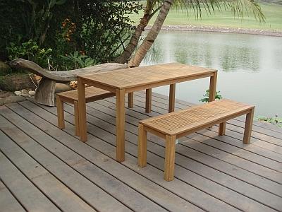 Tisch-Bank Kombination